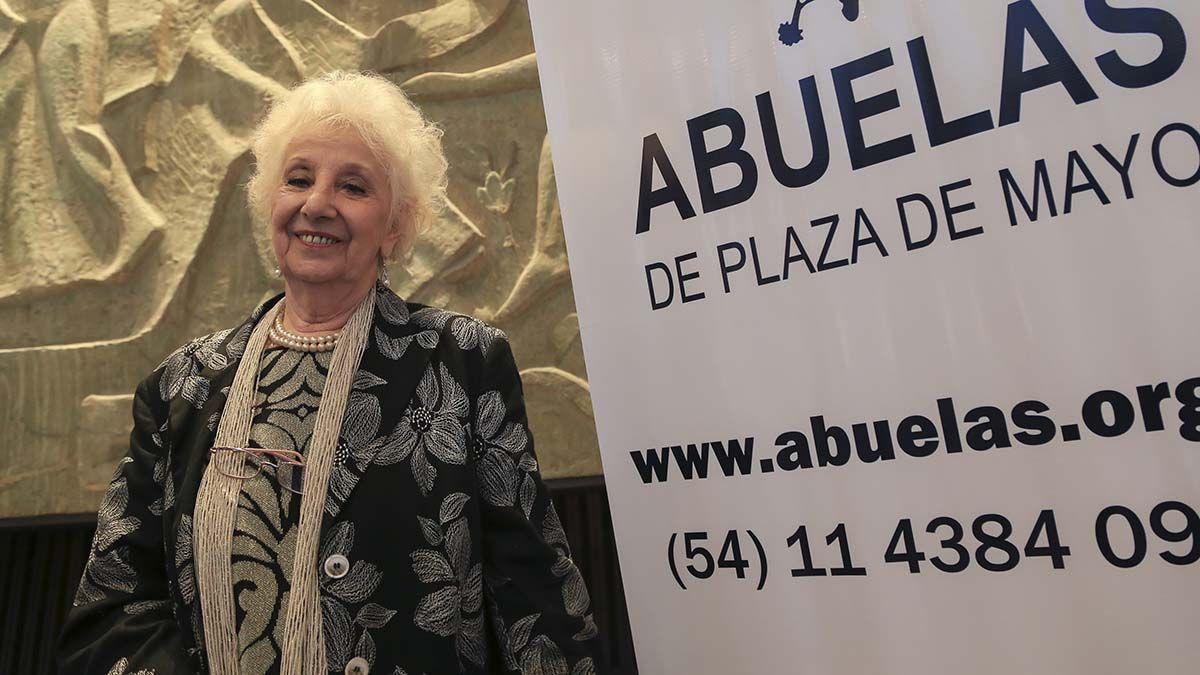 Estela de Carlotto recordó que durante el gobierno de Juntos por el Cambio Macri recibió a Abuelas una sola vez