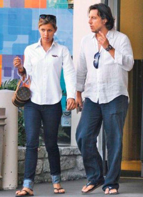 Alejandro Asensi y Michelle Salas fueron capturados en más de una ocasión juntos.