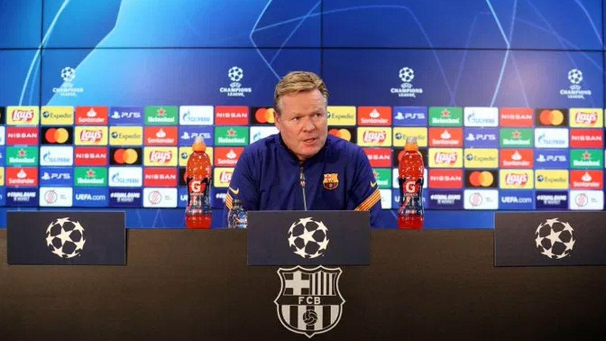 El Barcelona se las verá con el PSG y Koeman sacó pecho