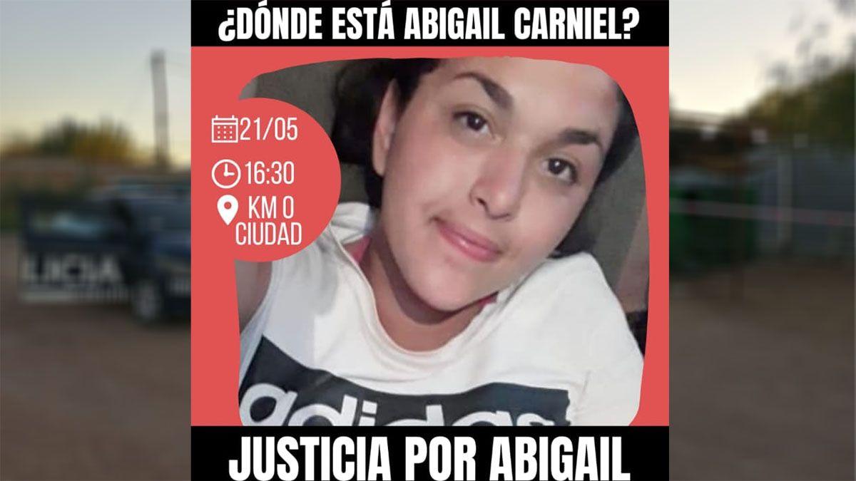 Piden Justicia por Abigail Carniel
