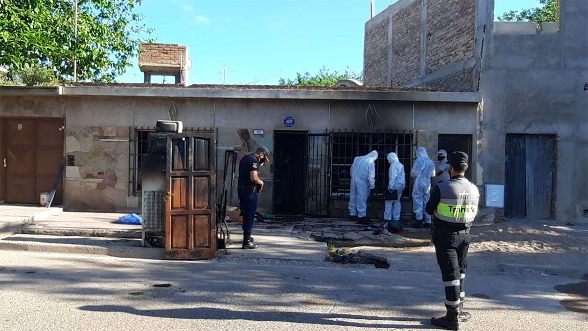 Incendio fatal: una mujer y sus nietas murieron en su casa