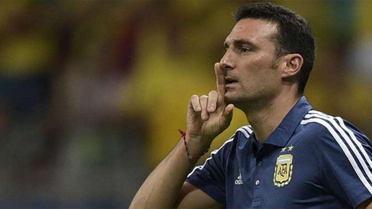 Marcos Acuña fue desafectado de la Selección Argentina