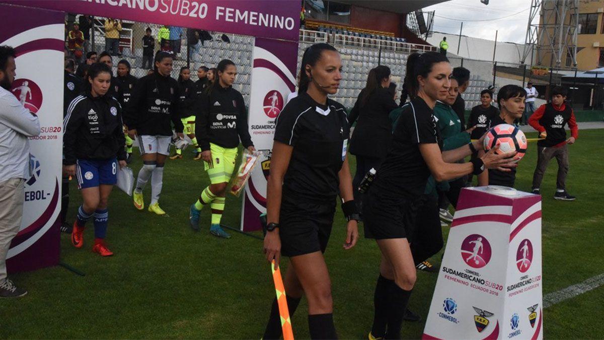 Mariana De Almeida y Daiana Milone harán historia en la Copa Libertadores.