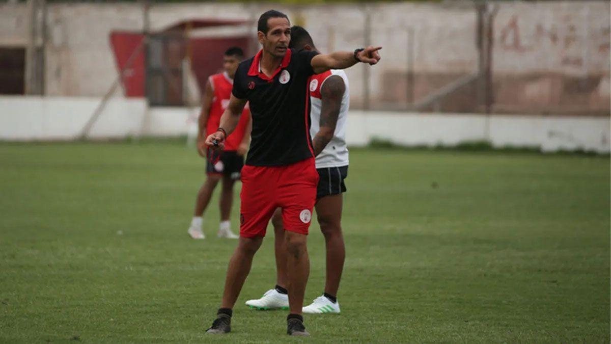 Martín Astudillo está motivado por el amistoso del sábado ante la Lepra.