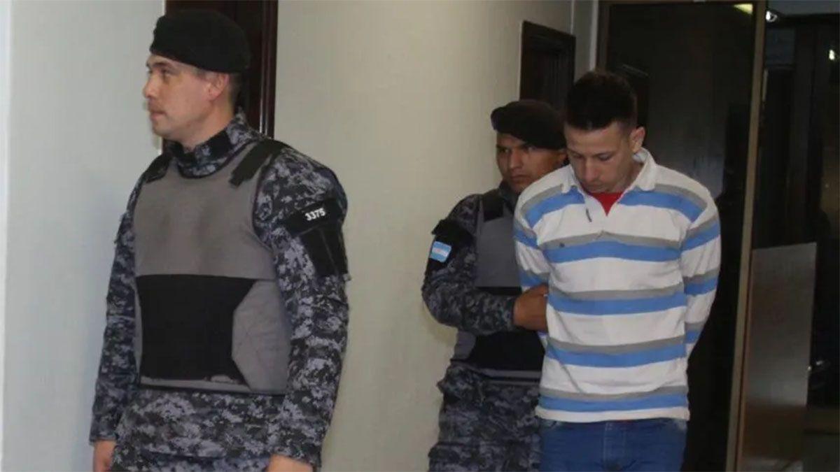 José Caccia arriesga una pena de 8 a 25 años.