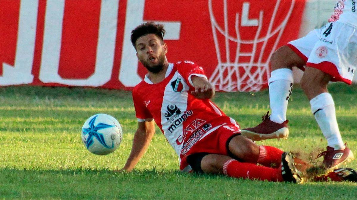 Franco Moreno ya palpita lo que será el choque ante Camioneros. (Foto gentileza Prensa Deportivo Maipú).