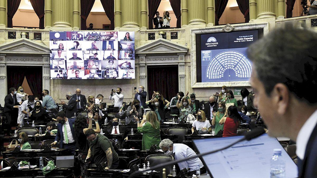 Sesiones mixtas en Diputados.