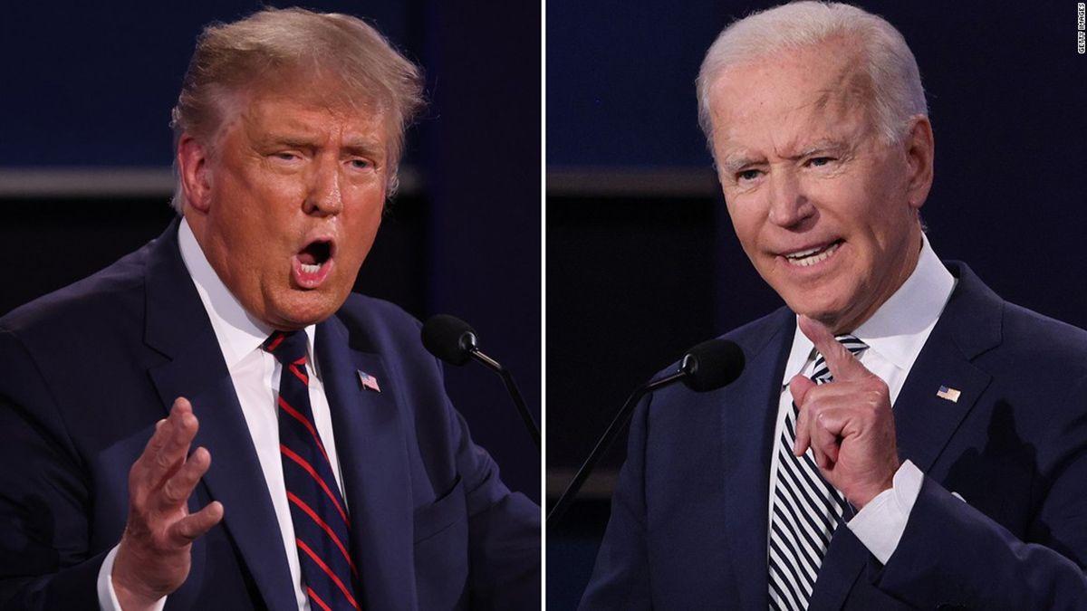 Donald Trump y su rival Joe Biden y están en las recta final de cara a las elecciones presidenciales en Estados Unidos