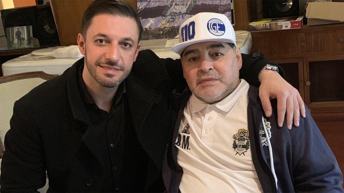 La marca Maradona quedó en poder del abogado Matías Morla