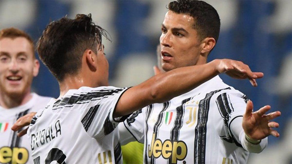 Dybala y Cristiano Ronaldo lograron un hito en Juventus