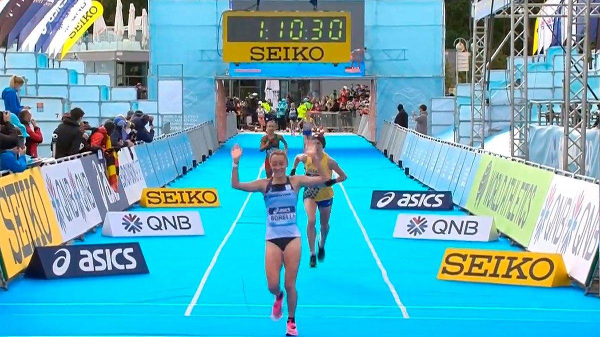 Florencia Borelli batió su récord nacional en Polonia