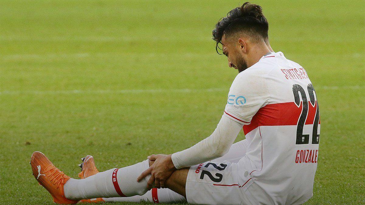 Cuál es el parte médico de la lesión de Nicolás González