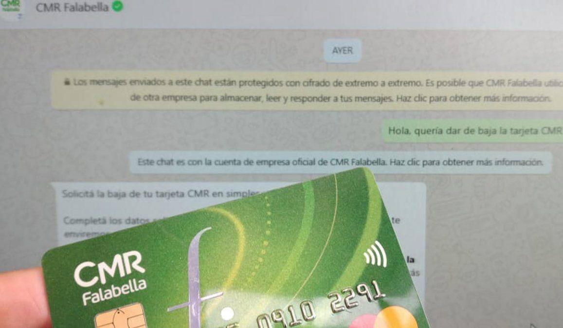La tarjeta CMR de Falabella se puede seguir usando. Pero sino, se puede dar de baja en pasos secillos