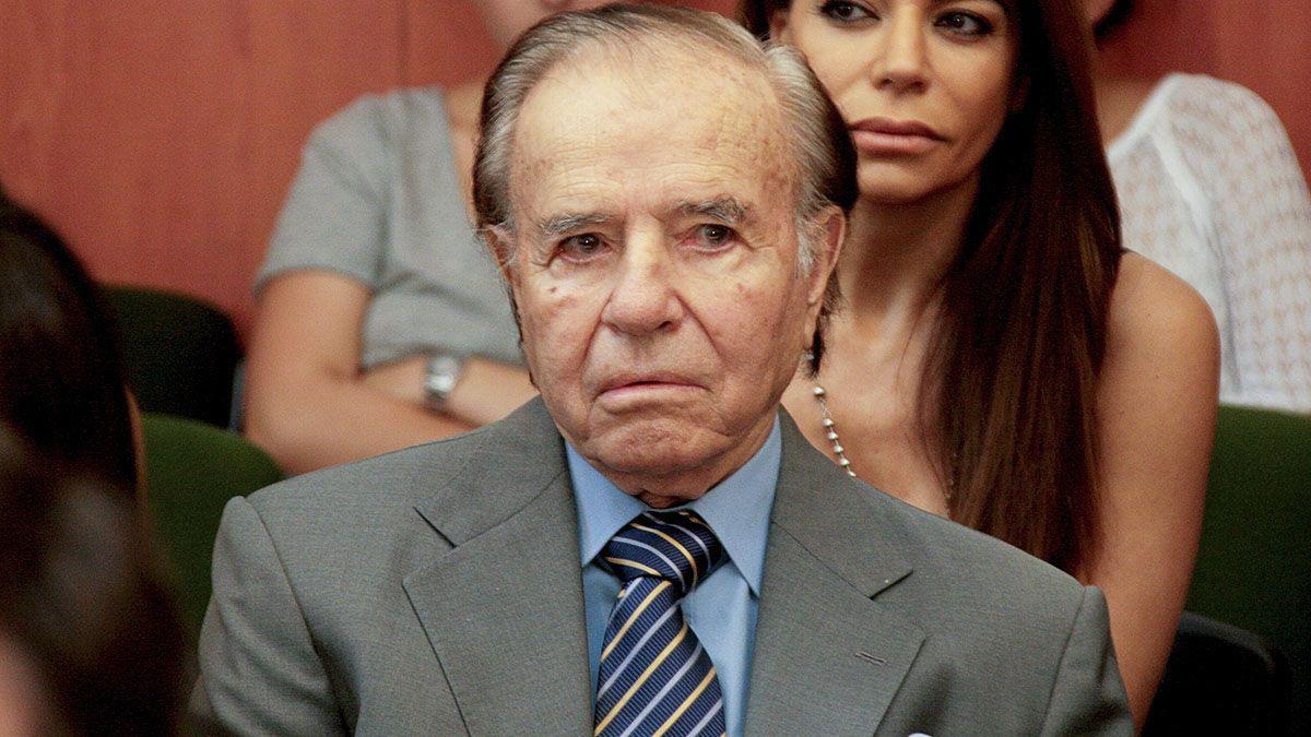 Carlos Saúl Menem fue dos veces presidente de la Nación