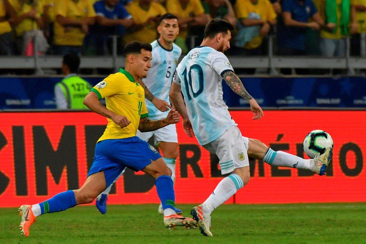 Brasil eliminó a Argentina en la Copa América 2019.