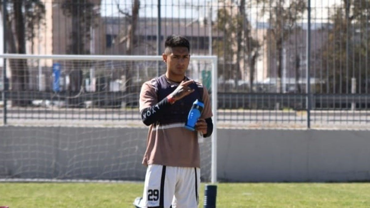 Fernando Cortés viene aprovechando las chances que le da Diego Pozo. (Gentileza Prensa Gimnasia y Esgrima).