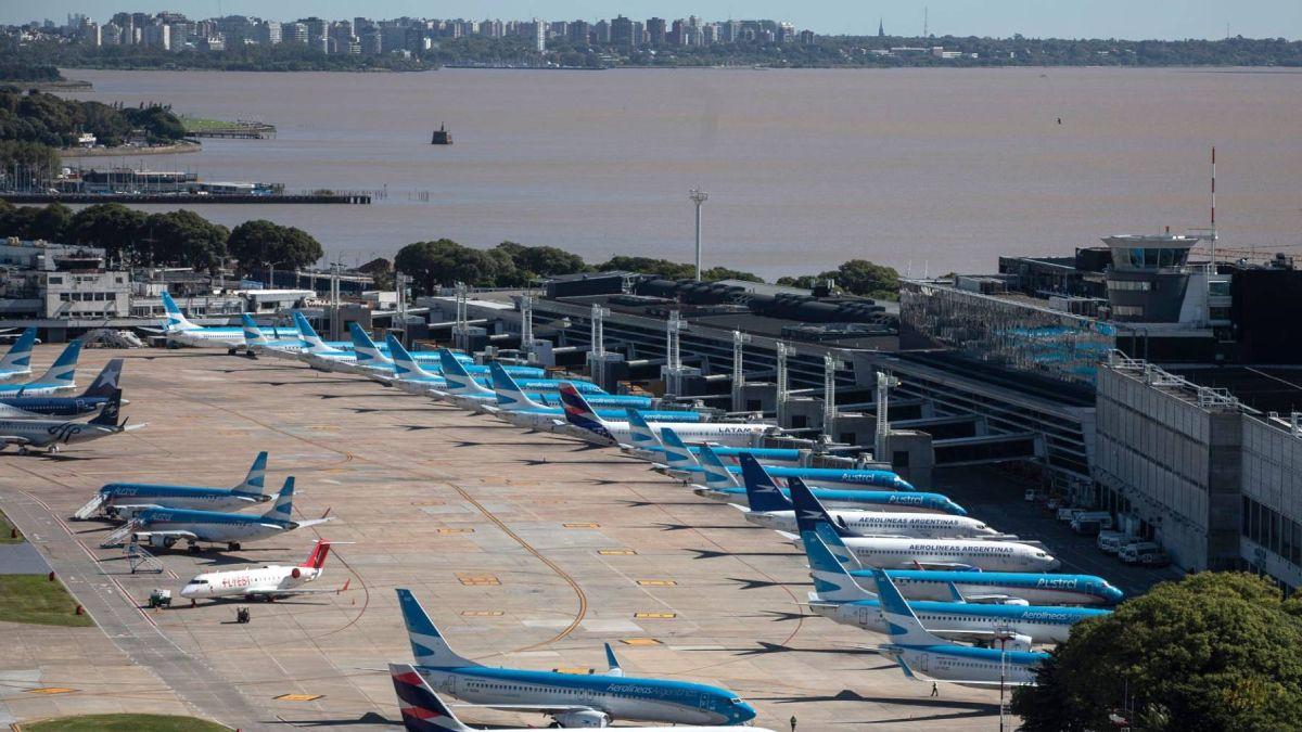 La terminal aérea metropolitana de la ciudad de Buenos Aires