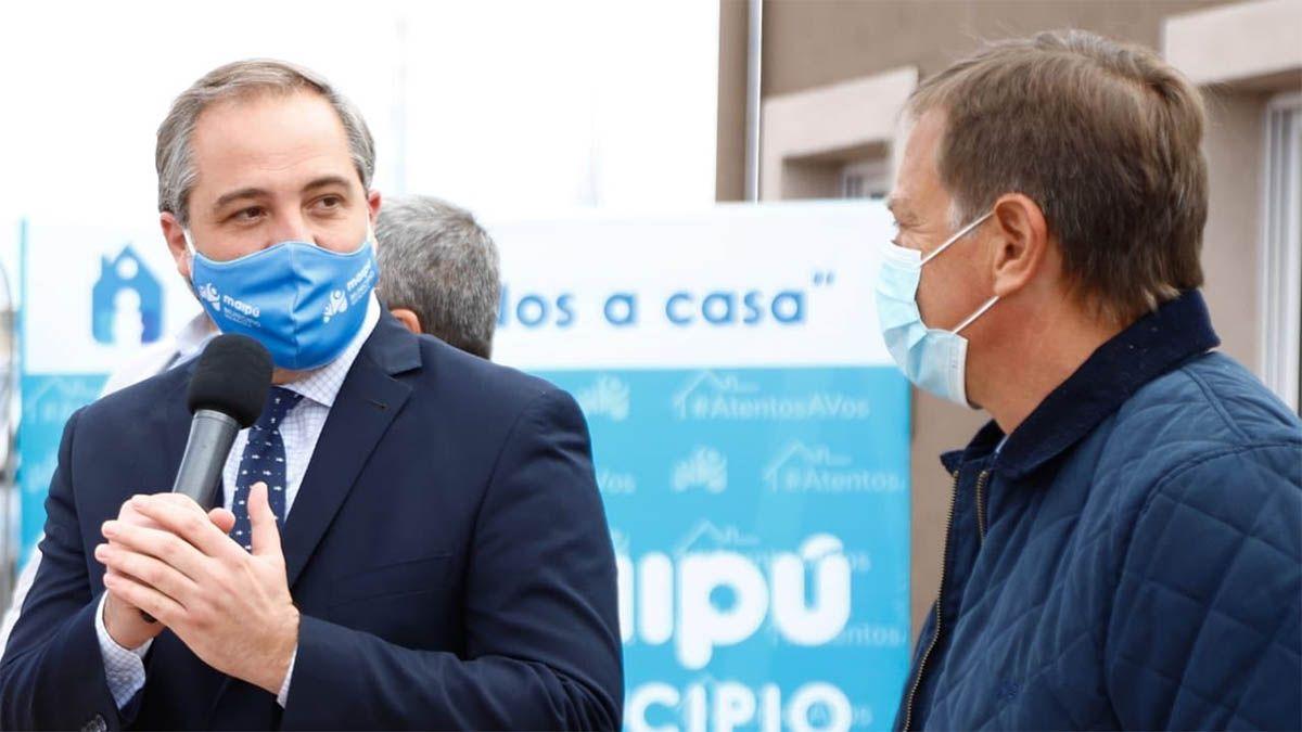 Matías Stevanato faltó a un acto del gobernador Rodolfo Suarez por estar aislado por coronavirus
