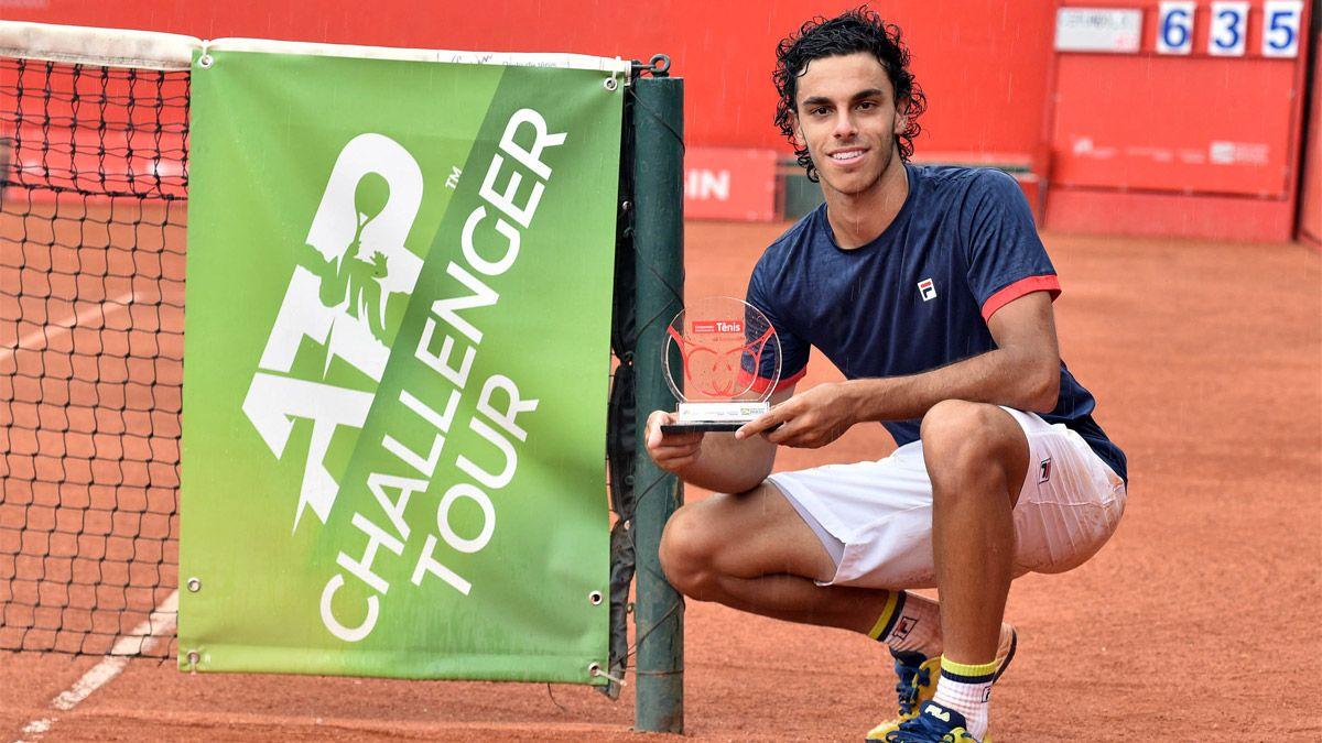 Cerúndolo cerró el 2020 ganando su tercer título Challenger