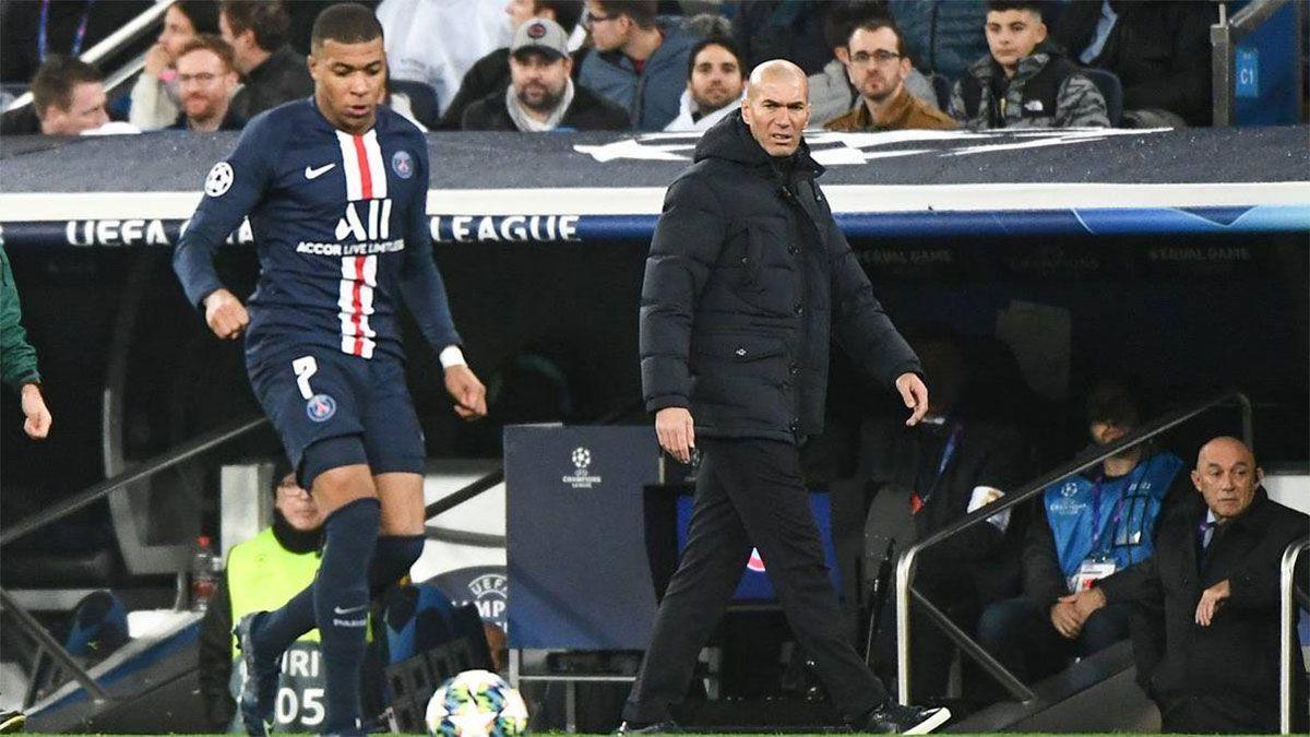 La estrategia que utiliza Zidane para convencer a Mbappé
