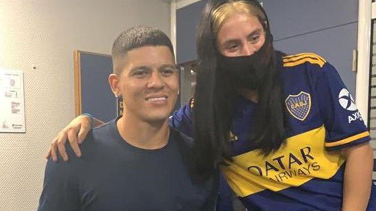 Marcos Rojo firmó el contrato y es el nuevo jugador de Boca