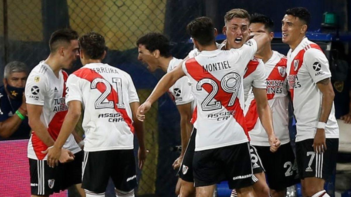 River chocará con Palmeiras en la primera semifinal