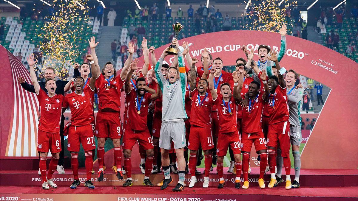 El Bayern Munich logró el sextete e igualó al Barcelona