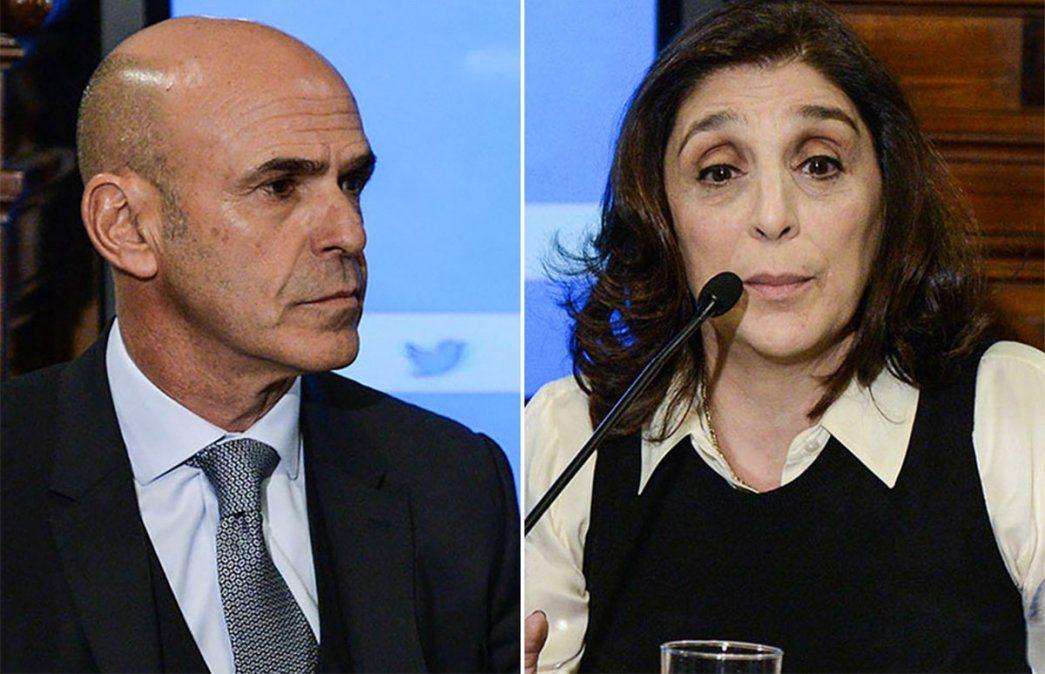 Gustavo Arribas y Silvia Majdalani procesados por presuntas tareas de espionaje ilegal. Foto: NA.