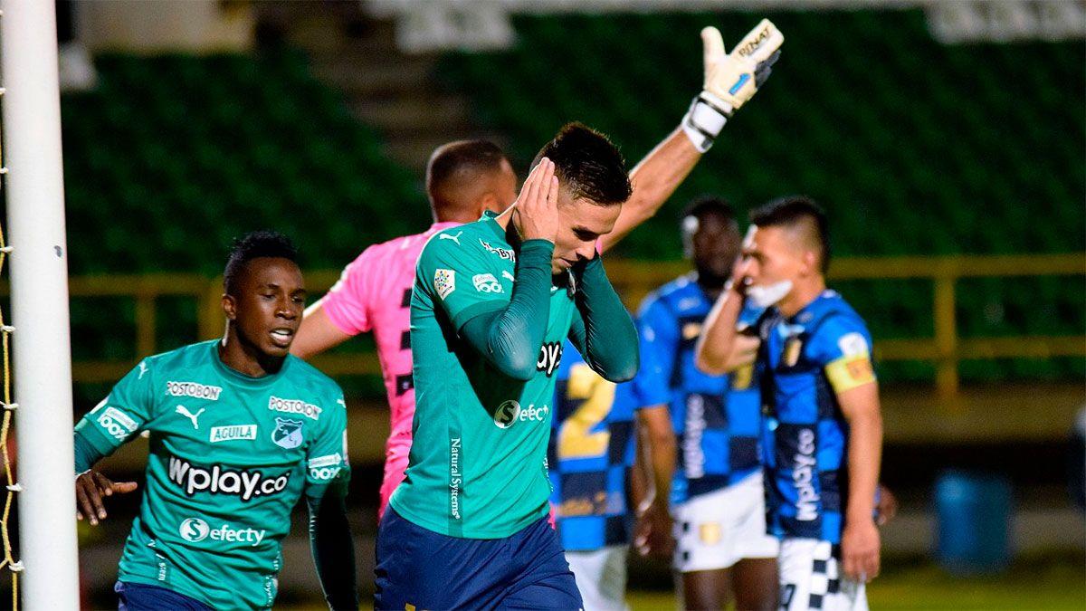 Agustín Palavecino, apuntado por River, volvió al gol