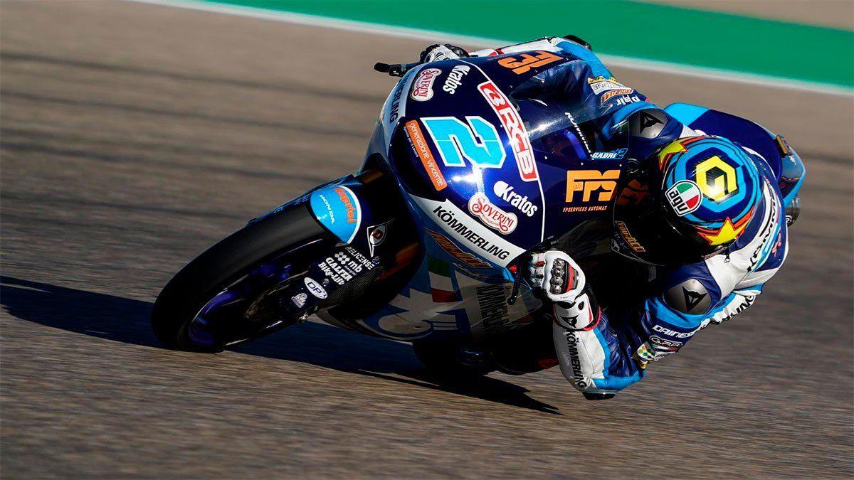 Gabriel Rodrigo abandonó al caer en la primera vuelta