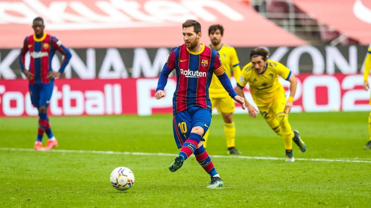 Messi logró una marca histórica