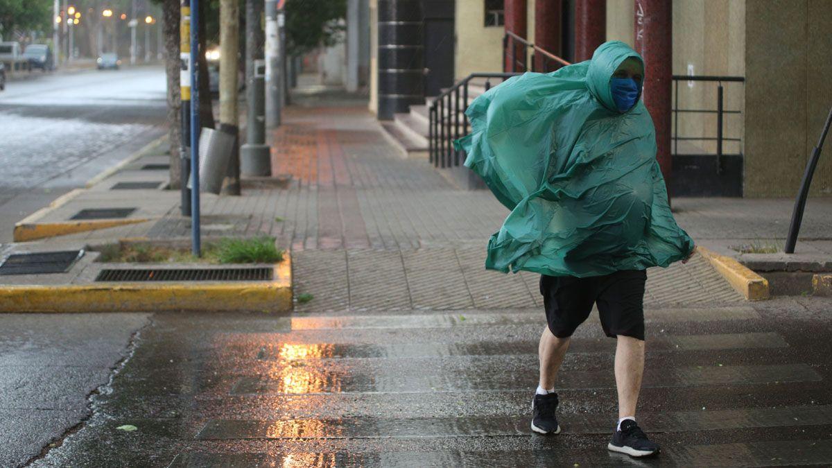 Pronosticaron más tormentas en Mendoza con granizo