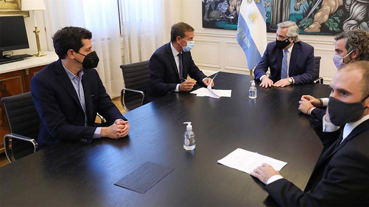Suarez negó que haya conflicto con la Nación.
