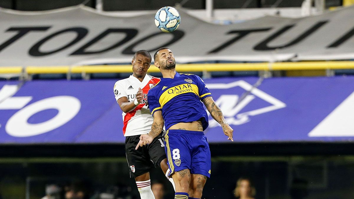 En un entretenido Superclásico, Boca y River igualaron 2 a 2