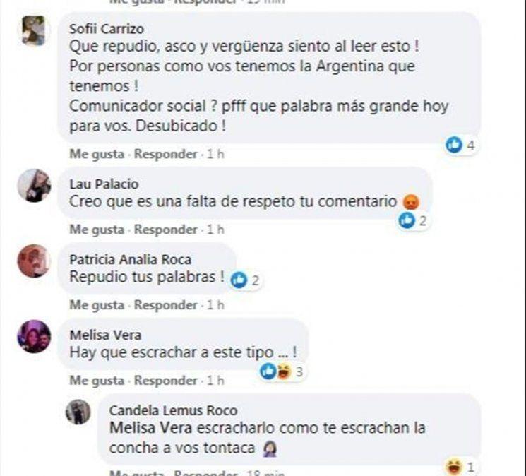 Aborto: periodista de San Juan pidió violar a las mujeres y dice que lo hackearon