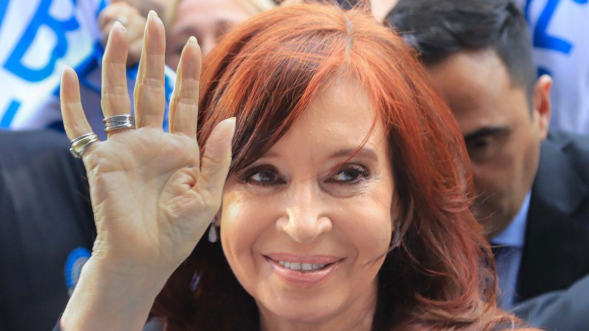 Cristina Kirchner se comunicó este sábado a través de las redes sociales.