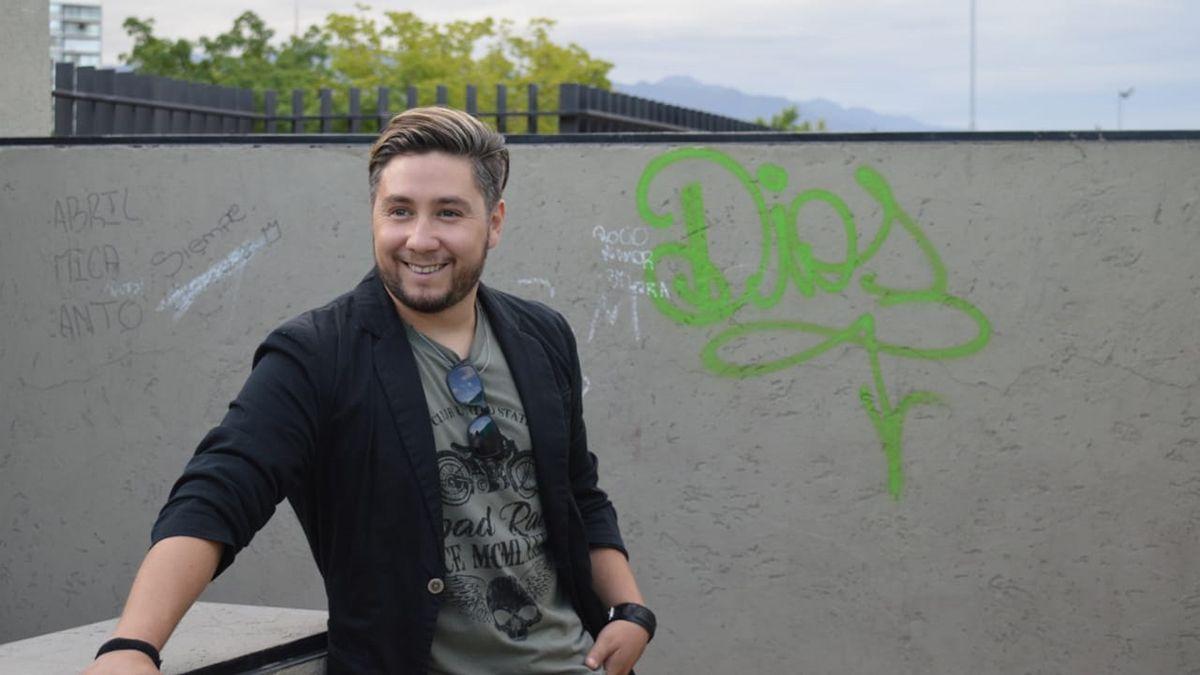 Cristian Soloa actuará el domingo en el Parque de la Familia.