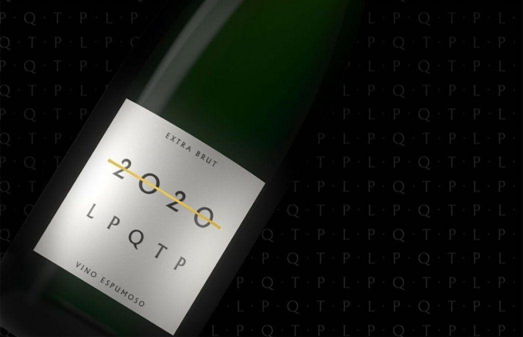 2020 LPQTP: un espumante cuyo video de promoción se hizo viral en las últimas horas.