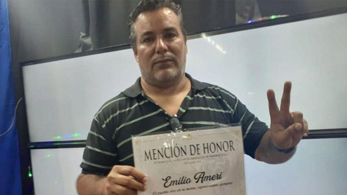 Juan Emilio Ameri, el diputado escandaloso, trabajó en River