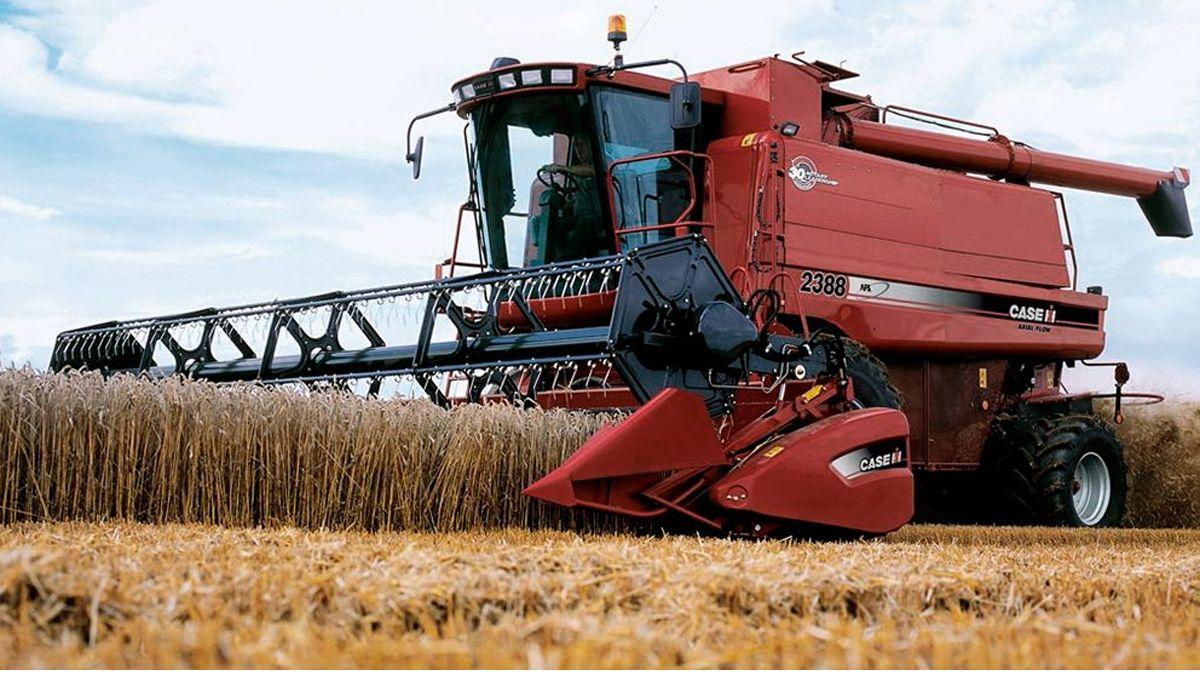 Maquinarias agrícolas.