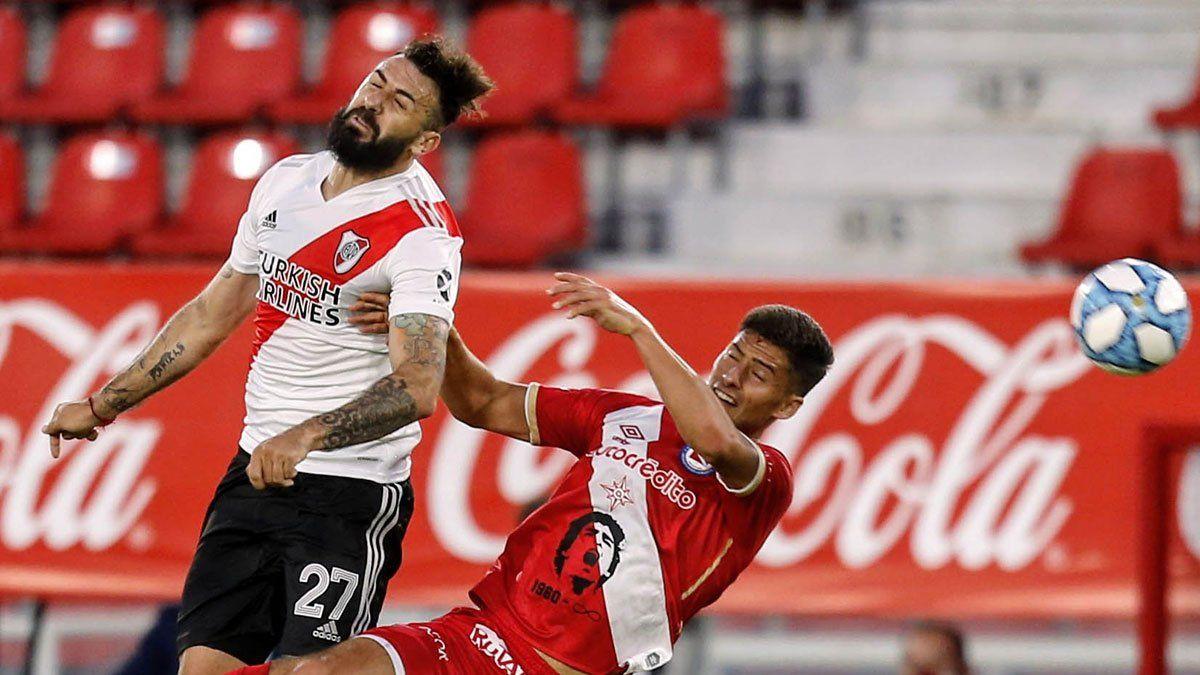 River y Argentinos también igualaron por la Zona Campeonato