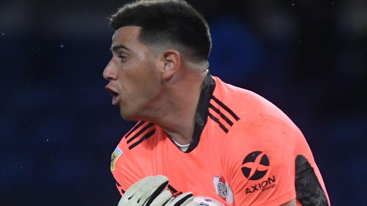 Alan Díaz tapó pelotas claves en su debut en River