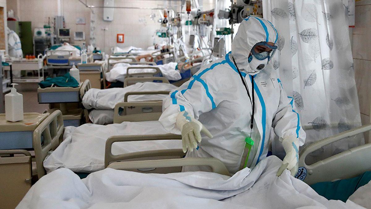 Son más jóvenes los pacientes internados en terapia intensiva.