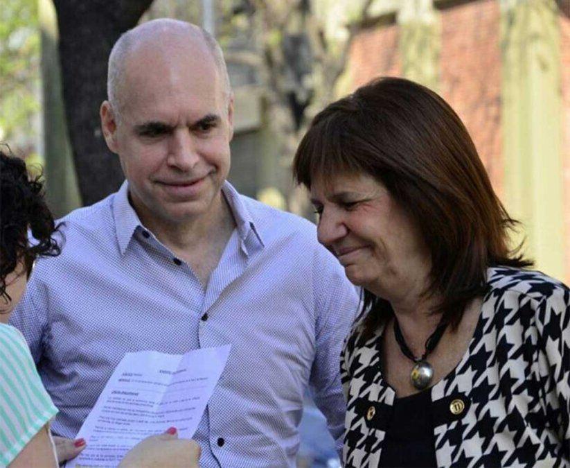 Rodríguez Larreta y Patricia Bullrich se vieron cara a cara y pusieron paños fríos a la interna por las candidaturas en la Ciudad de Buenos Aires pero...