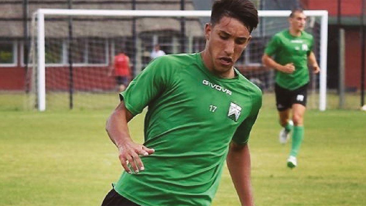 Matías Ramírez viene de jugar en Ferro.