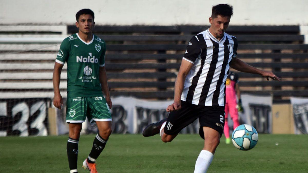El zaguero spira a ganarle el domingo a Atlético de Rafaela.