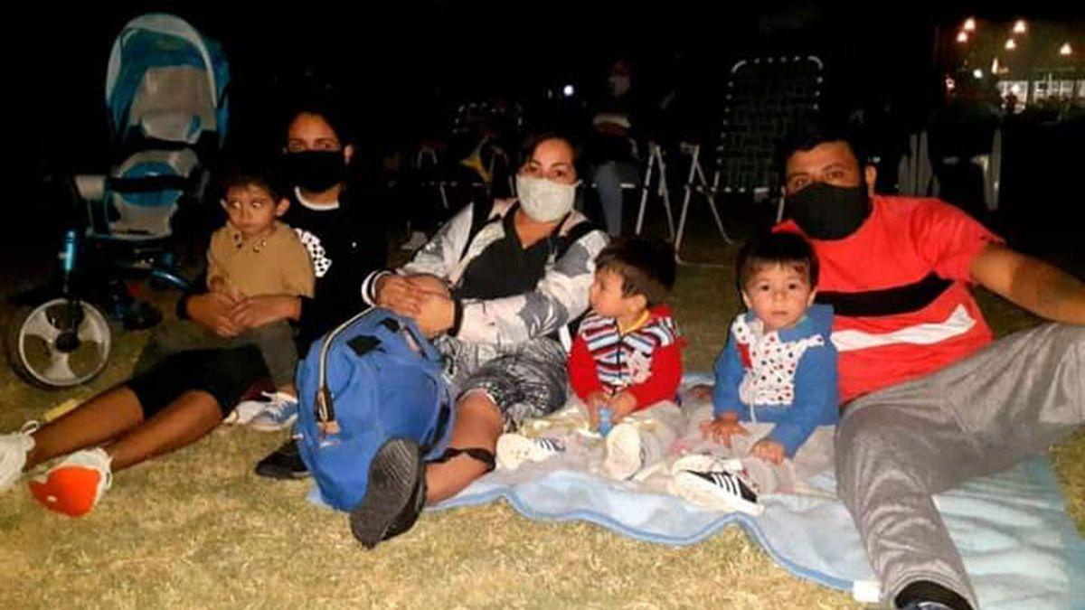 La pandemia lo hizo. Volvió el cine al aire libre a Mendoza