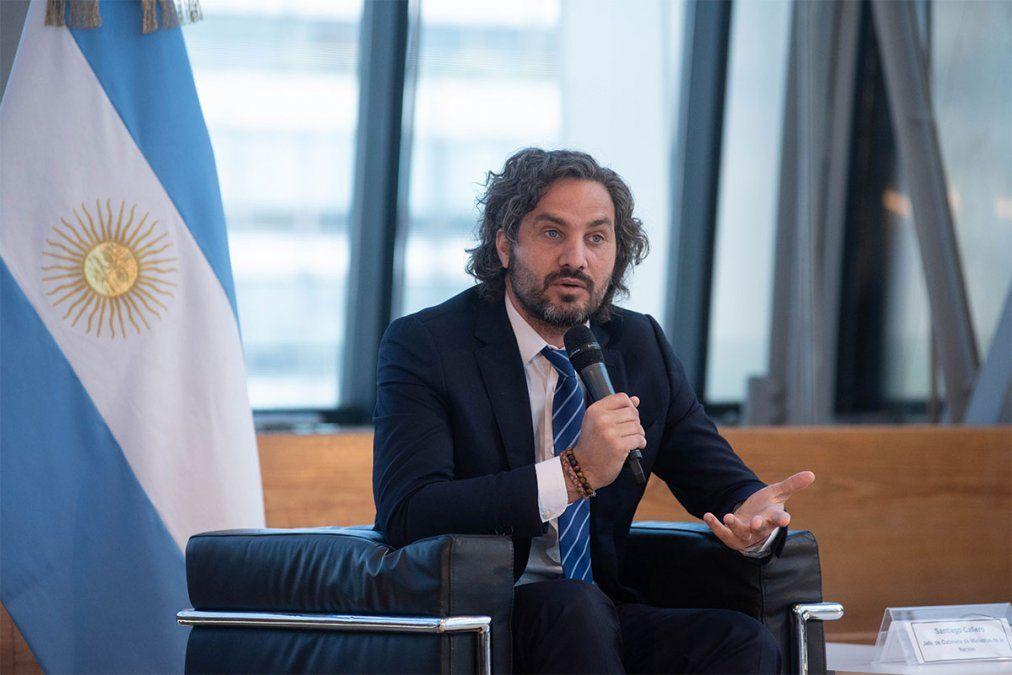 Santiago Cafiero criticó este sábado a Macri y Larreta.