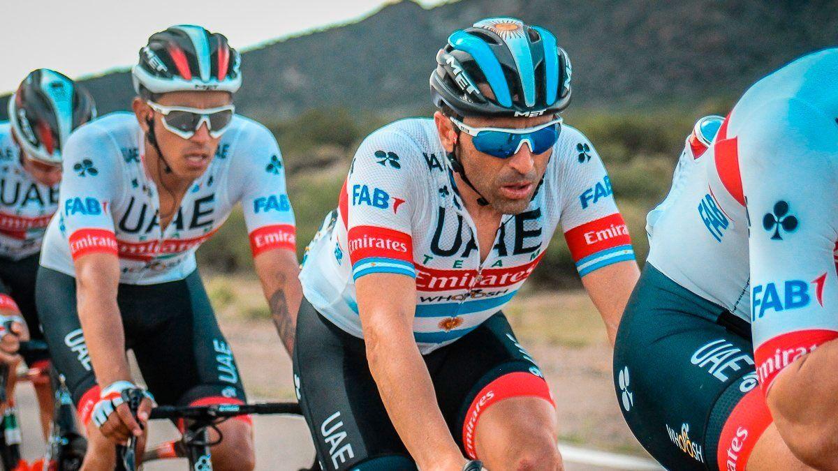 Giro de Italia: Maximiliano Richeze abandonó la competencia