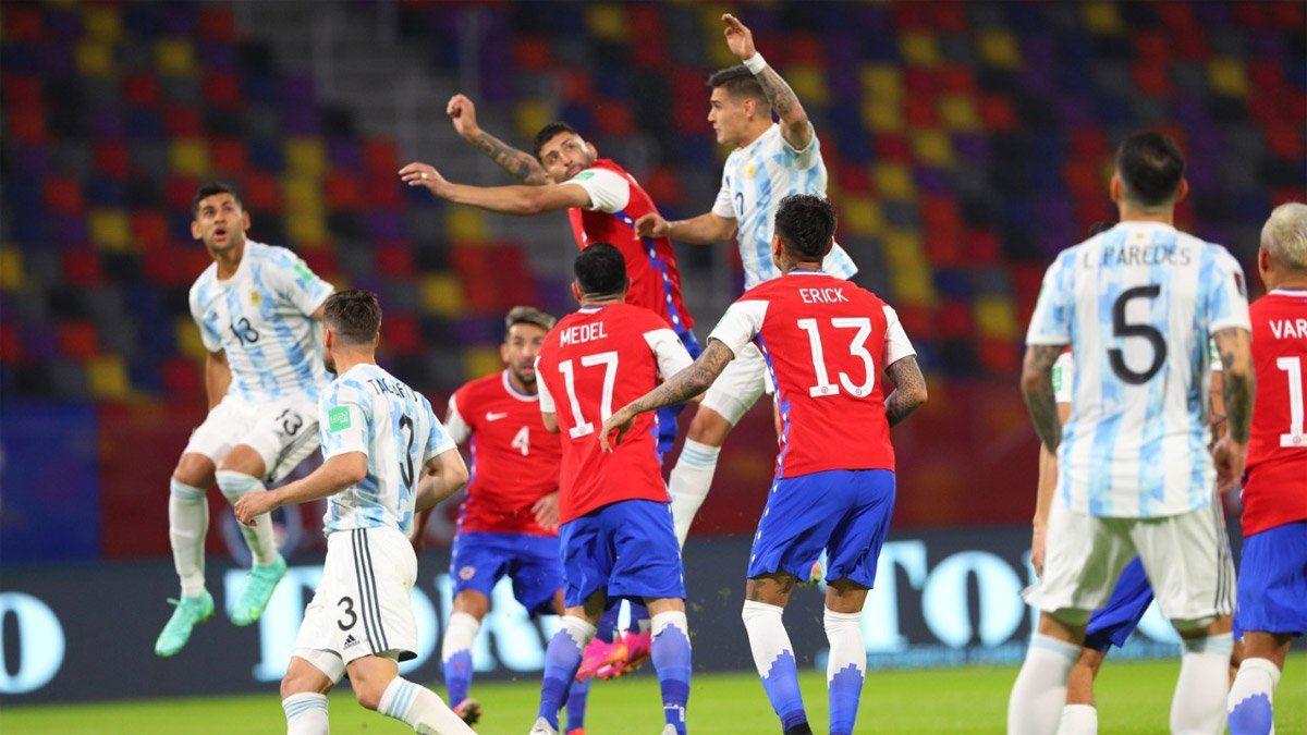 Argentina empató 1-1 con Chile, en Santiago del Estero
